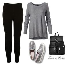 26 by tatiana-vieira on Polyvore featuring polyvore fashion style Warehouse Keds clothing