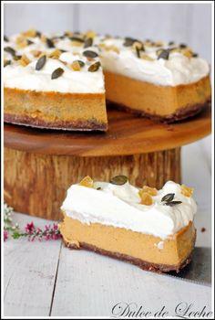 Dulce de Leche: Korenistý tekvicový cheesecake