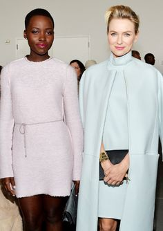 Fashion Week: Front Row Favorites - Lupita Nyong'o and Naomi Watts from #InStyle