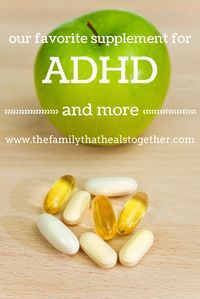 Natural Treatment for ADHD and Other Behavioral Disorders: Our Favorite Supplement from The Family That Heals Together ** Continue with the details at the image link. Adhd Odd, Adhd And Autism, Autism Teens, Adhd Supplements, Natural Supplements, Adhd Signs, Adhd Help, Autism Awareness, Dyslexia