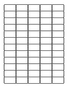 Raffle ticket pattern. Use the printable outline for crafts, creating stencils, scrapbooking, and more. Free PDF template to download and print at http://patternuniverse.com/download/raffle-ticket-pattern/
