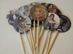Cristina Please make cupcakes !!!  The Walking Dead party picks