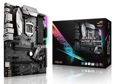 Дънна платка Asus ROG STRIX B250F GAMING (ASUS-MB-B250F-STRIX-GAMING) - цена и характеристики | Plasico IT Superstore