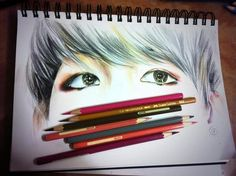 Baekhyun fanart so pretty! i would give creds to the owner but i don't know who did this how is it so good i cant even