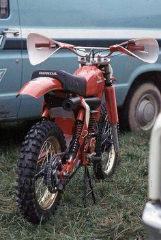 1977/78- Honda RC250 Works Bike