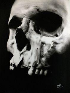 Skull by gpreece.deviantart.com on @deviantART
