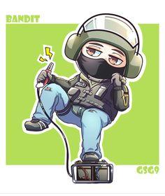 Bandito the dorito' Rainbow Six Siege Art, Rainbow 6 Seige, Rainbow Six Siege Memes, Tom Clancy's Rainbow Six, Cute Characters, Anime Characters, Zootopia Fanart, Affinity Designer, Yandere Simulator
