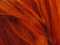 Cor laranja ruivo