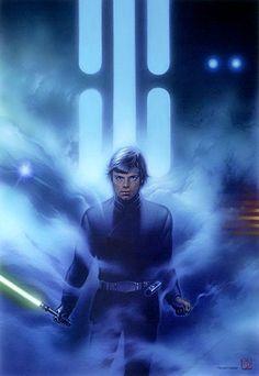 Luke skywalker star wars the return of jedi Star Wars Film, Star Wars Jedi, Star Wars Art, Star Wars Luke Skywalker, Anakin Skywalker, Art Adventure Time, Art Harry Potter, Fan Art Anime, Art Manga