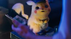"""Wildly unbelievable though it may be, the Detective Pikachu movie is definitely a real thing that is coming to theaters. """"What proof do you have? Here's the first trailer. Pikachu Pikachu, Pikachu Memes, New Trailers, Movie Trailers, Pokemon Gif, Film Pokemon, Streaming Tv Shows, Coming To Theaters, True Detective"""