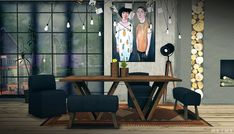 Restoration Hardware Dining 2.0 • RH Dining Bench ( 13 Swatches ) • Bruno Dining Chair ( 13 Swatches ) • RH Dining Table ( 15 Swatches ) • Rustic Planter ( 6 Swatches ) Download: Simfileshare ( 15MB ) Credits: Anye ( Mesh ) and...