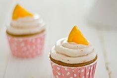 Strawberry Mimosa Cupcakes