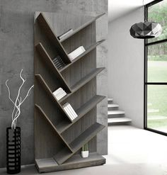 LIBRERO LENDER GRIS VINTAGE - RematesMx Cool Bookshelves, Bookshelf Design, Bookcase, Pooja Room Design, Room Door Design, Chill Room, Pooja Rooms, Minimalist Furniture, Room Doors