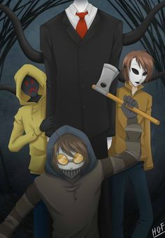 Slenderman's proxy by House-0f-Freak on DeviantArt