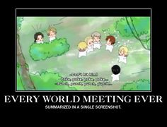The summary of every world meeting in Hetalia by TheMightyLilah.deviantart.com on @deviantART