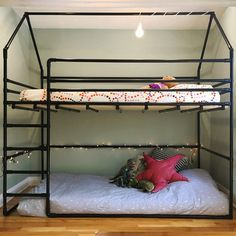 We have a large collection of unique kids bunk beds and kids loft beds available in an assortment of playful & kid-friendly styles Bunk Beds Small Room, Bunk Beds For Girls Room, Modern Bunk Beds, Cool Bunk Beds, Bunk Beds With Stairs, Kids Bunk Beds, Bed Rooms, Bunk Bed Ideas For Small Rooms, Loft Beds