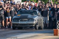 """Shayne Ward Shares His 1988 Ford Mustang with """"380 CID Turbo SBF, Powerglide Trans, 8.8 Rear, 88mm Turbo Dominated and Won 4 out of 5 of the Last Small Tire, No Prep Races Entered. Air Force Won Out of Fort Worth, Texas"""" #fordfriday #forcedinductionfriday #fancarfriday"""