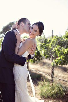 Pretty Vineyard Wedding at Sunstone Winery, Santa Ynez, California by Ashleigh Taylor Photography