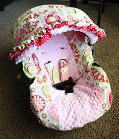 Car seat cover tutorial...@Marisol Barrera Barrera Villanueva - you can make one.