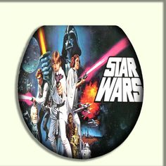 Star Wars Toilet Seat by CityDwellersBoutique on Etsy