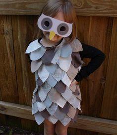 owl costume.  darling.