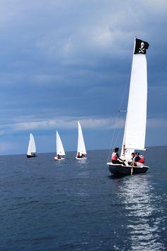 Prove pratiche in mare #vela #corsi #LNV2015