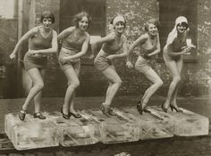 Charleston on ice. 1926