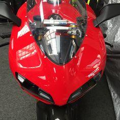 MC shopping at Infinity Motorbike Shop at Clapham