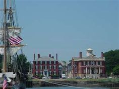 Salem, MA : Salem Massachusetts Waterfront - Custom House photo ...
