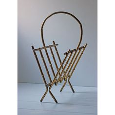 Bamboo Motif Magazine Rack now featured on Fab.