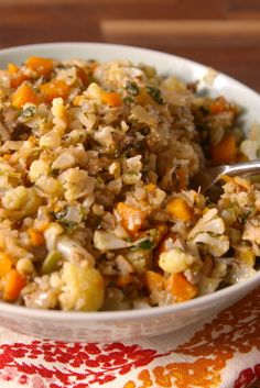 Cauliflower stuffing gives all those gluten-free people hope on Thanksgiving.