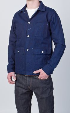 Rogue Territory Field Jacket Over-Dyed Indigo