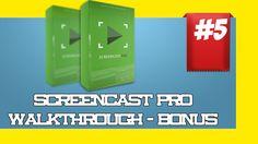 Walkthough 5: Screencast Pro Review and Bonuses Best Screencast Pro Revi...