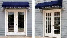 Pin it! :) Follow us :))  zPatioFurniture.com is your Patio Furniture Gallery ;) CLICK IMAGE TWICE for Pricing and Info :) SEE A LARGER SELECTION of patio awning and canopies at  http://zpatiofurniture.com/category/patio-furniture-categories/patio-canopies-awnings/ - Quarter Round Window Awning or Door Canopy 4′ Wide in Sunbrella Awning Fabric – Black « zPatioFurniture.com