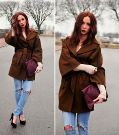 Wide Lapel; Cinched Waist