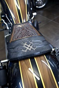 leather seat for a harley...