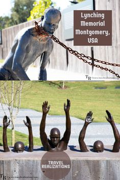The National Lynching Memorial in Montgomery, Alabama documents and remembers the tragic deaths of over 4400 African Americans. Usa Travel Guide, Travel Guides, Travel Tips, Travel With Kids, Travel Usa, United States Travel, Canada Travel, South America, America 2