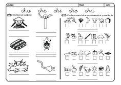 Fichas infantiles para aprender a leer y aprender a escribir con la letra C. Dibujos Lectoescritura con letra C para colorear.  Lectoescritura_CyQ_22