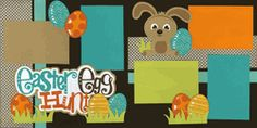 Easter Egg Hunt-Boy Page Kit