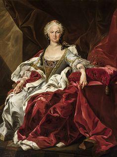 SM ISABEL DE FARNESIO REINA DE ESPAÑA. Segunda esposa de Felipe V