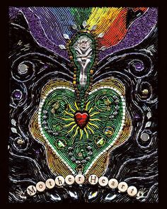 Mother Heart by With All My Heart Art, via Flickr