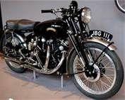 New York Vincent-HRD Series C Black Shadow Motorcycle - Vincent Black Shadow British Motorcycles, Cool Motorcycles, Vintage Motorcycles, Vintage Cycles, Vintage Bikes, Vintage Cars, Royal Enfield, Vincent Black Shadow, Vincent Motorcycle