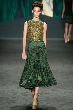 Margaery Tyrell - Vera Wang spring 2013 - submitted by myrcellla