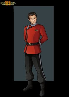 Excelsior Communications Officer(christian slater) by nightwing1975.deviantart.com on @deviantART
