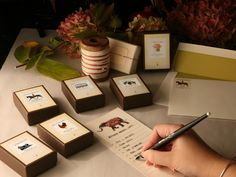 Illustrated Return Address Labels - add color & charm to your gifting this year!
