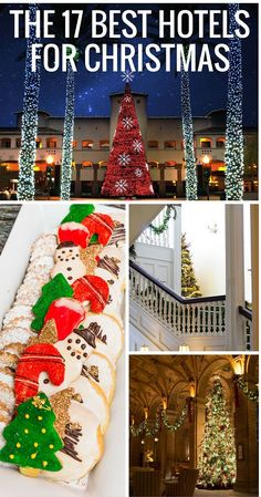 The best luxury hotels to spend the Christmas holidays. A list of the best famil… The best luxury hotels to spend the Christmas holidays. A list of the best family programs at city, beach, Disney World, mountain, and desert resorts and hotels. Best Christmas Vacations, Christmas Getaways, Christmas Destinations, Best Family Vacations, Christmas Town, Family Vacation Destinations, Christmas Travel, Holiday Travel, All Things Christmas