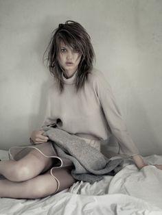 M Le Monde September 2013 Model: Lindsey Wixson Photographer: Paolo Roversi