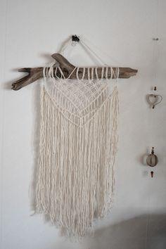 Makrame väggbonad Dream Catcher, Diy Crafts, Wall Art, Sewing, Yoga, Inspiration, Home Decor, Ideas, Threading