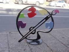 Bike Rack Art Now Installed in the Delmar Loop - University City, MO Patch