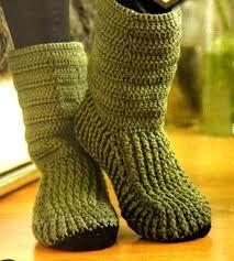 zapatos tejidos en crochet - Buscar con Google